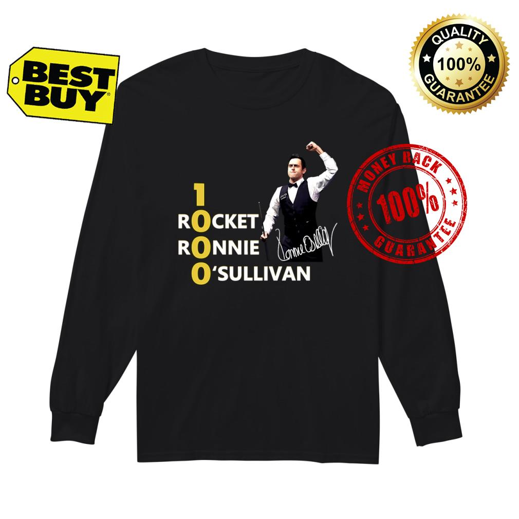 1000 Rocket Ronnie O_Sullivan shirt Long sleeved