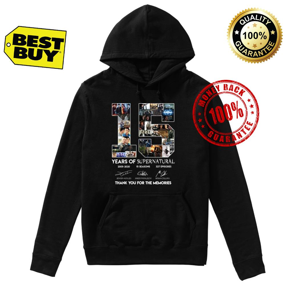 15 Years of Suppernatural shirt hoodie