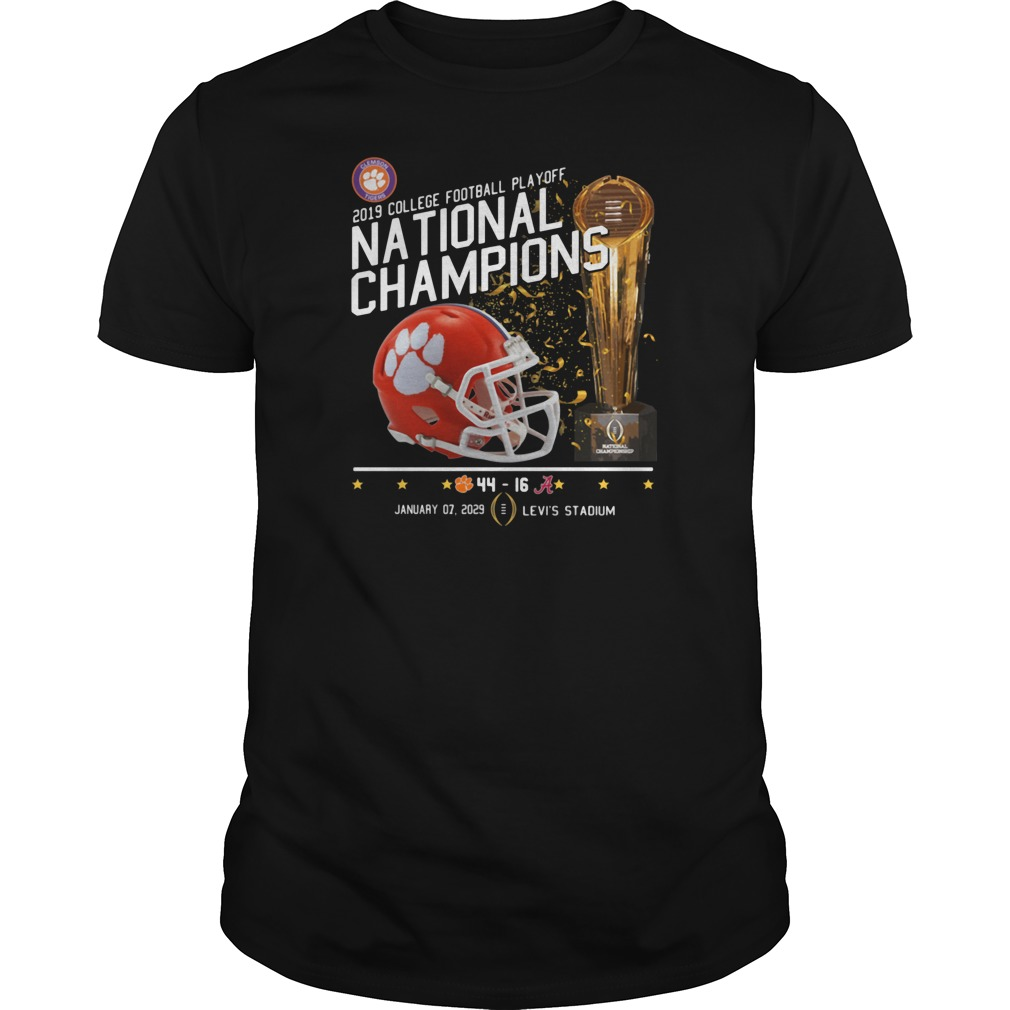 2019 College football playoff national champions 44 16 shirt tank top