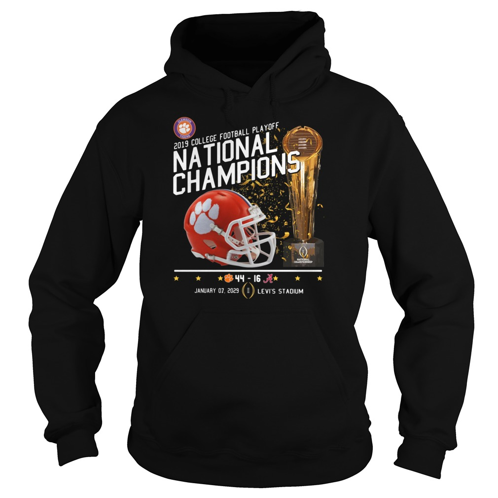 2019 College football playoff national champions 44 16 shirt hoodie