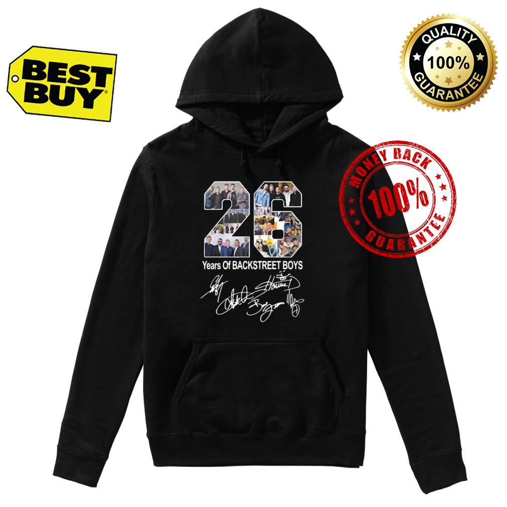 26 Years of Backstreet Boys signature shirt hoodie