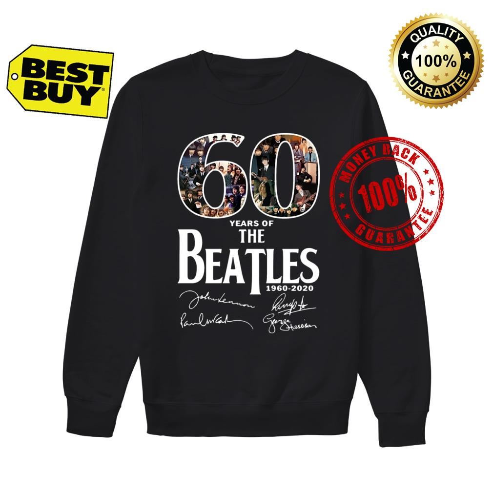 60 Years Of The Beatles shirt sweater