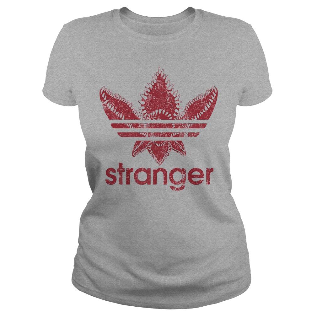 Adidas stranger things ladies tee