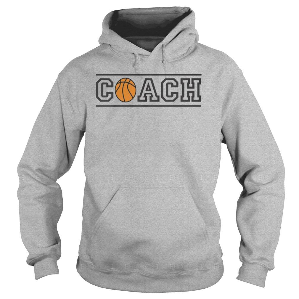 Basketball Coach Hoodie