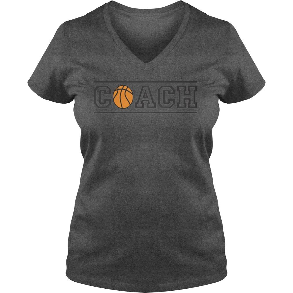 Basketball Coach Ladies Tee