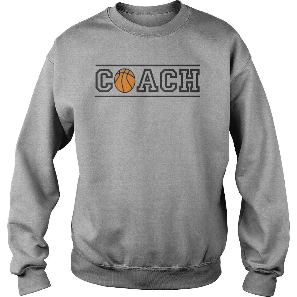 Basketball Coach Sweat Shirt