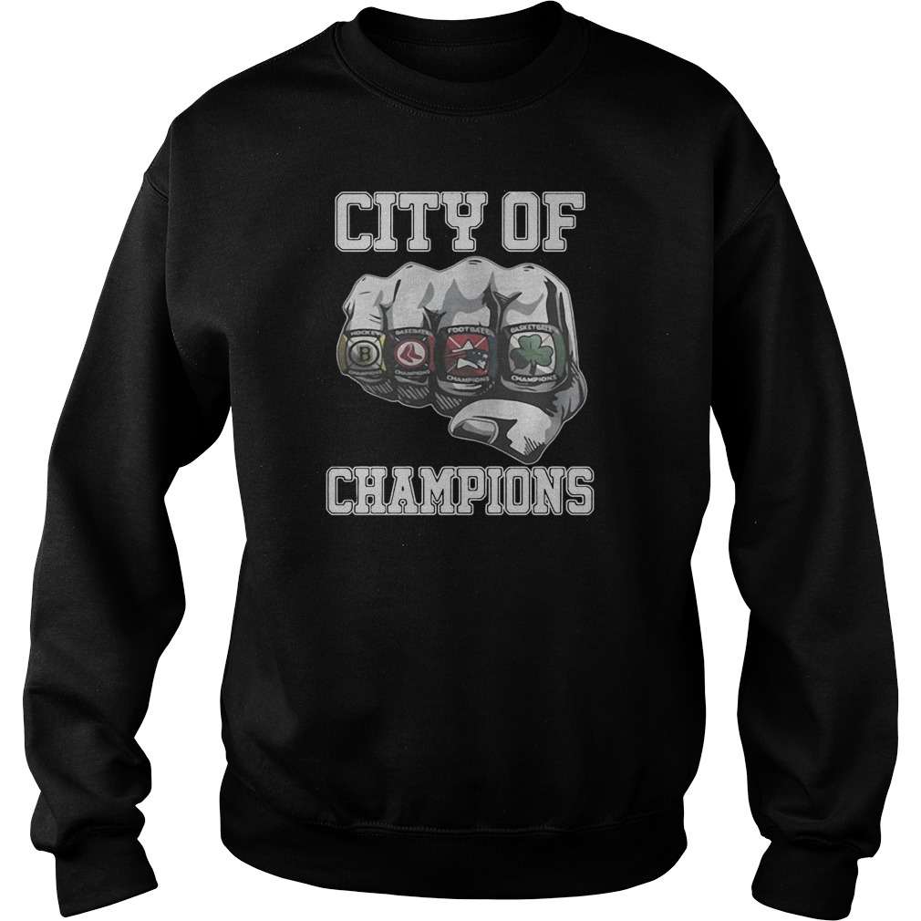 Best City Of Champions boston sports teams citizen shirt sweater