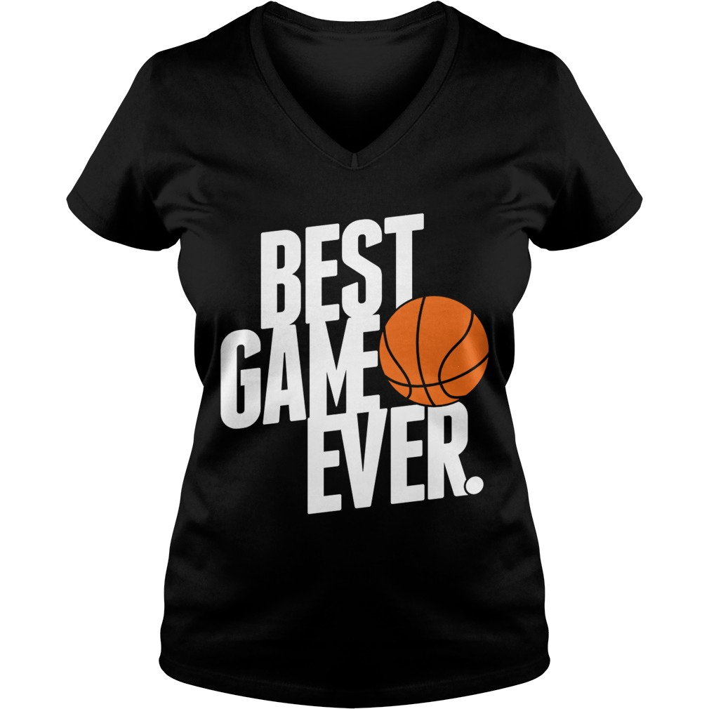 Best Game Ever Ladies V-Neck