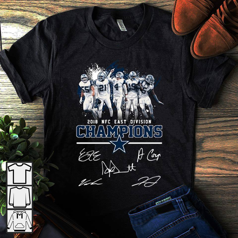 NFC east division Dallas Cowboys shirt