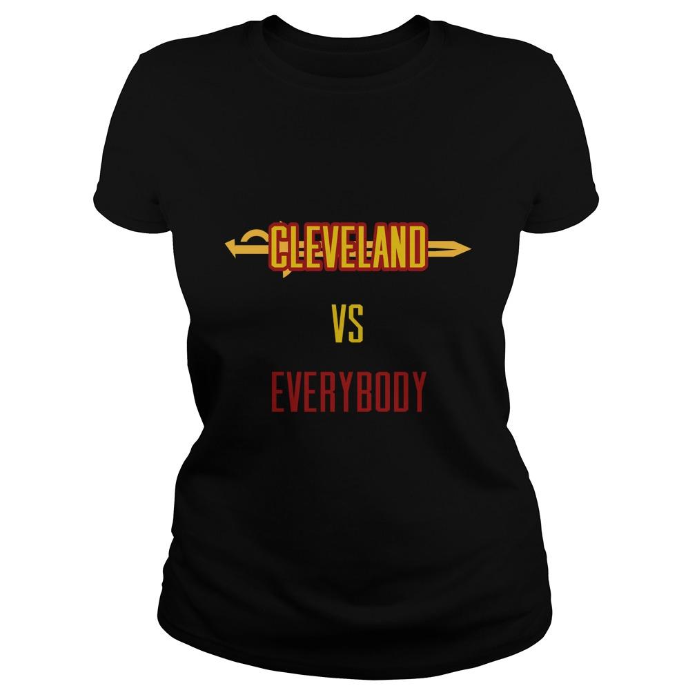 Cleveland Vs Everybody Ladies Tee