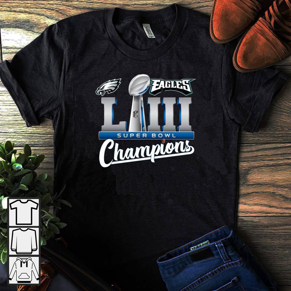 Eagles LII champions shirt