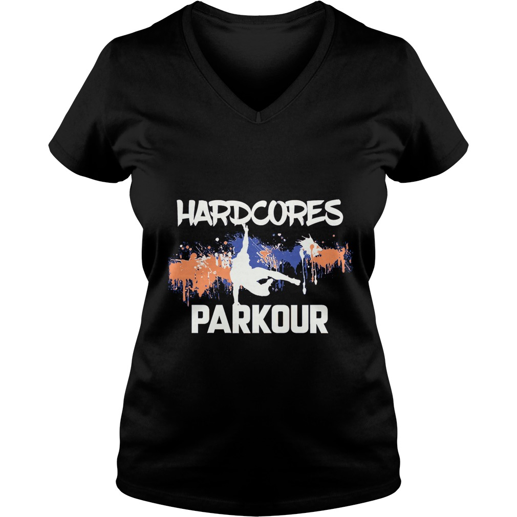 Hardcores Parkour Ladies V-Neck
