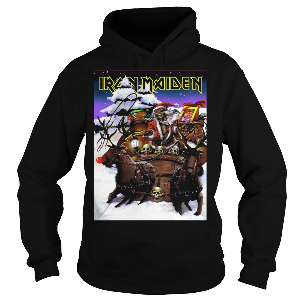 And Ugly Shirt Santa Hoodie Sweater Clause Maiden Christmas T Iron