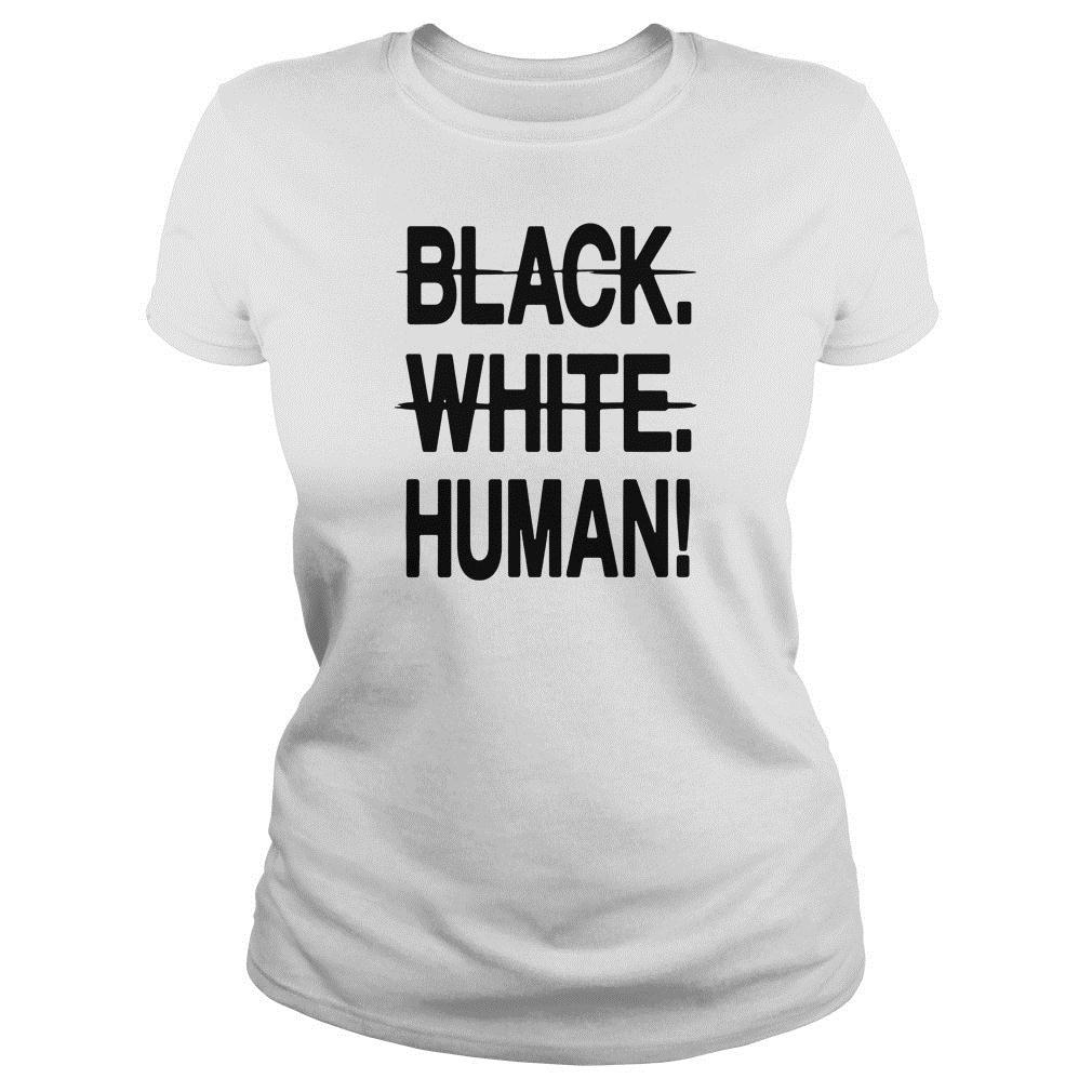 Mike Colter black white human shirt ladies tee