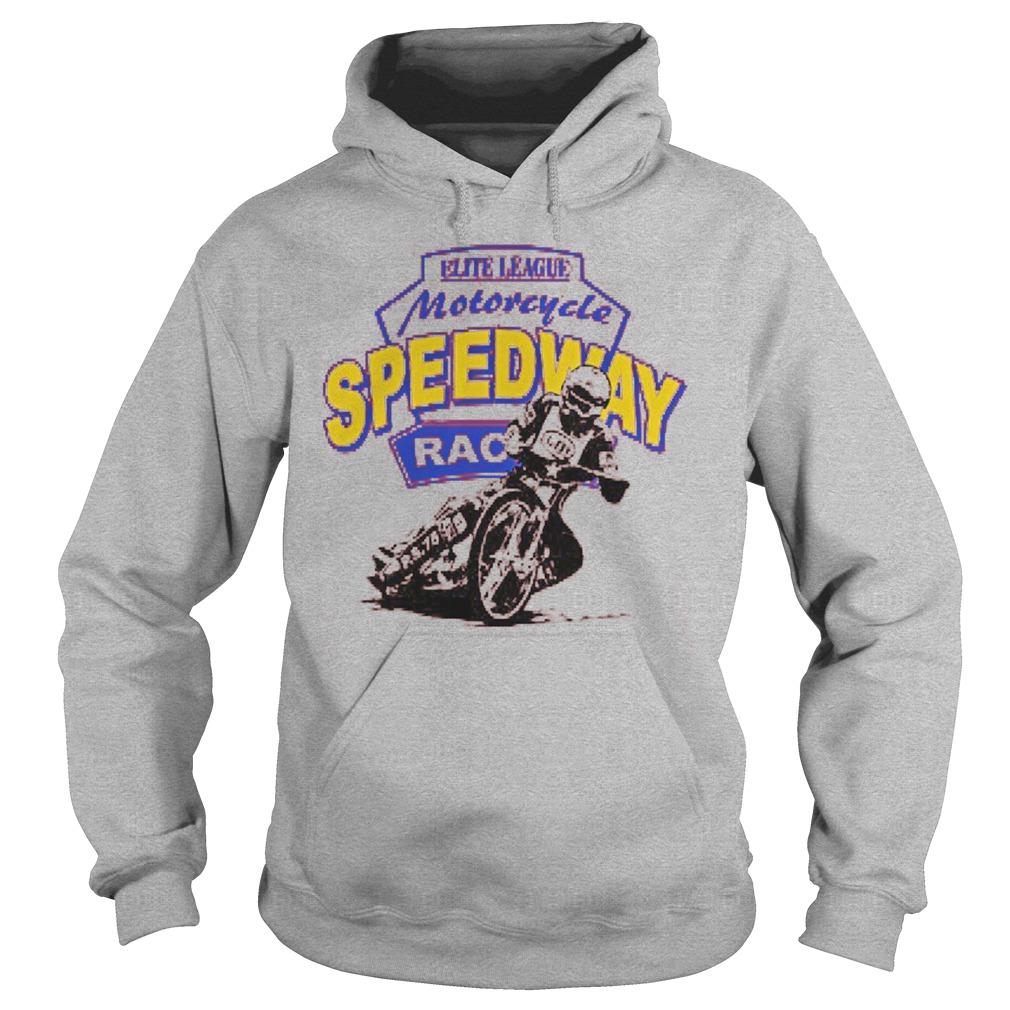 Motorcycle speedway racing Hoodies