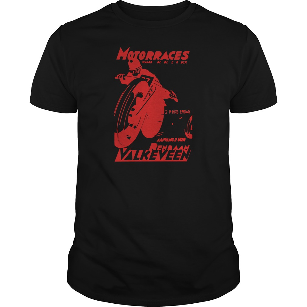 Motorraces renbaan valkeveen T-Shirt