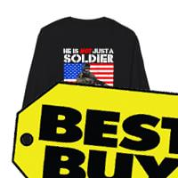 My Son Is A Soldier Proud Army Dad ProMilitary shirt Long sleeved