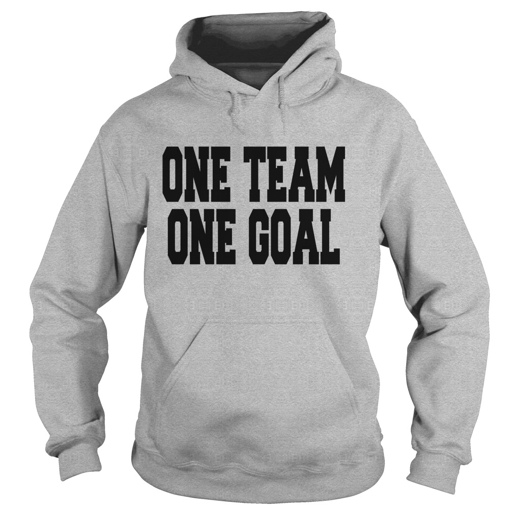 One Team One Goal Hoodie
