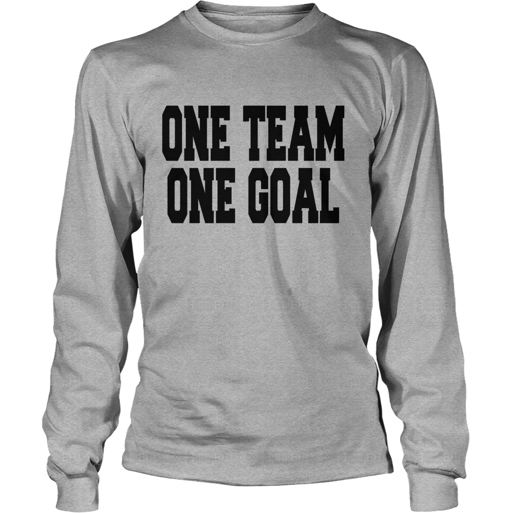 One Team One Goal Longsleeve Tee