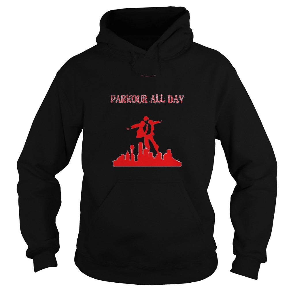 Parkour all Day Hoodie
