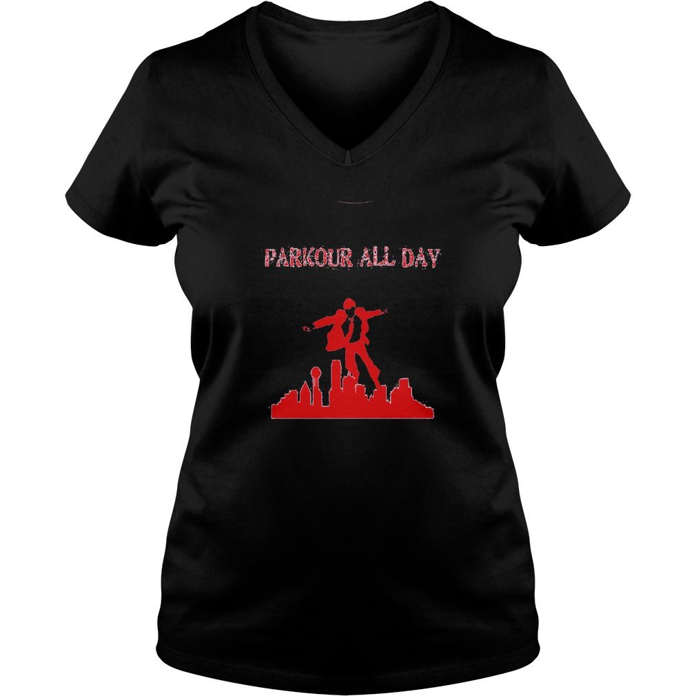 Parkour all Day Ladies V-Neck