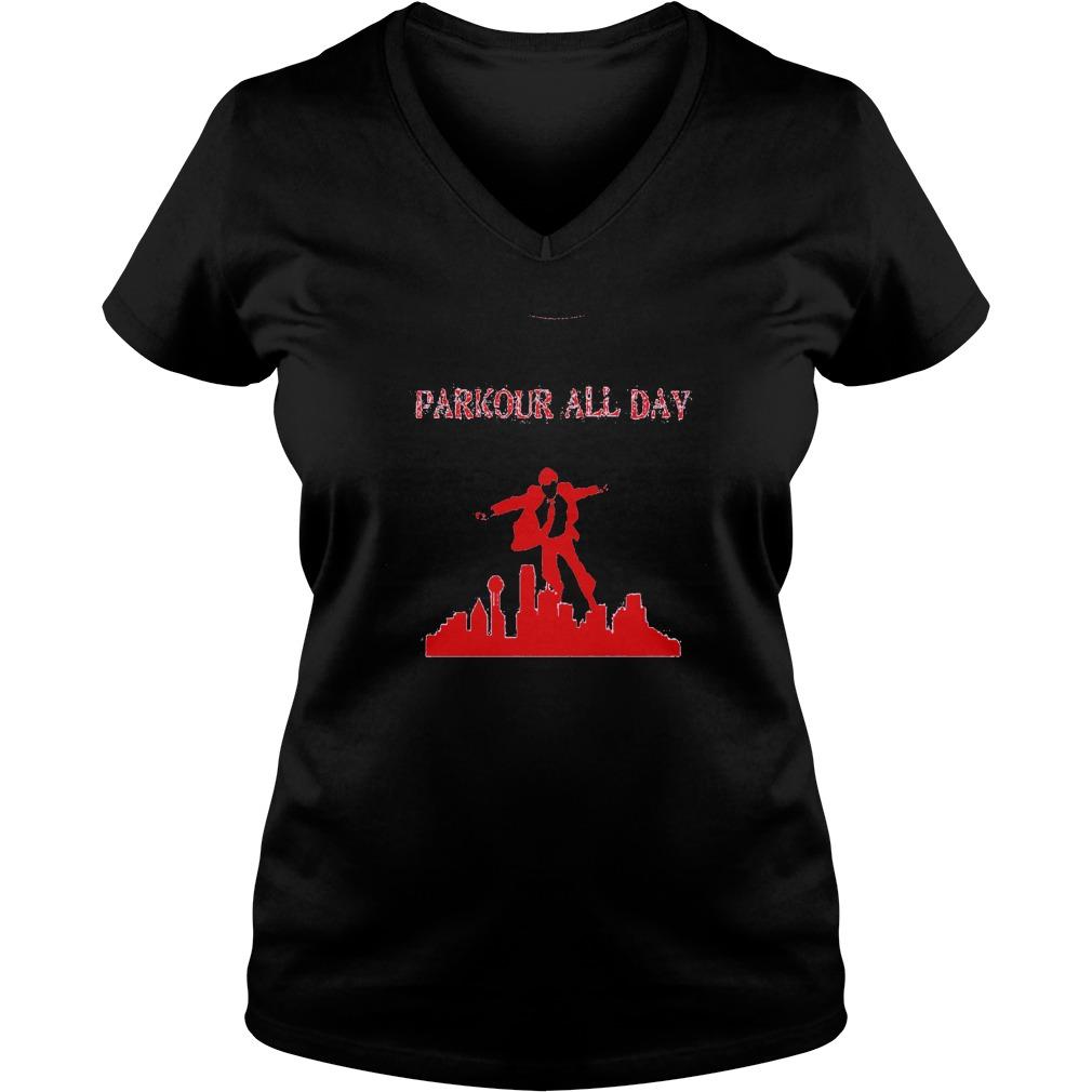Parkour all Day Ladies V-Neck