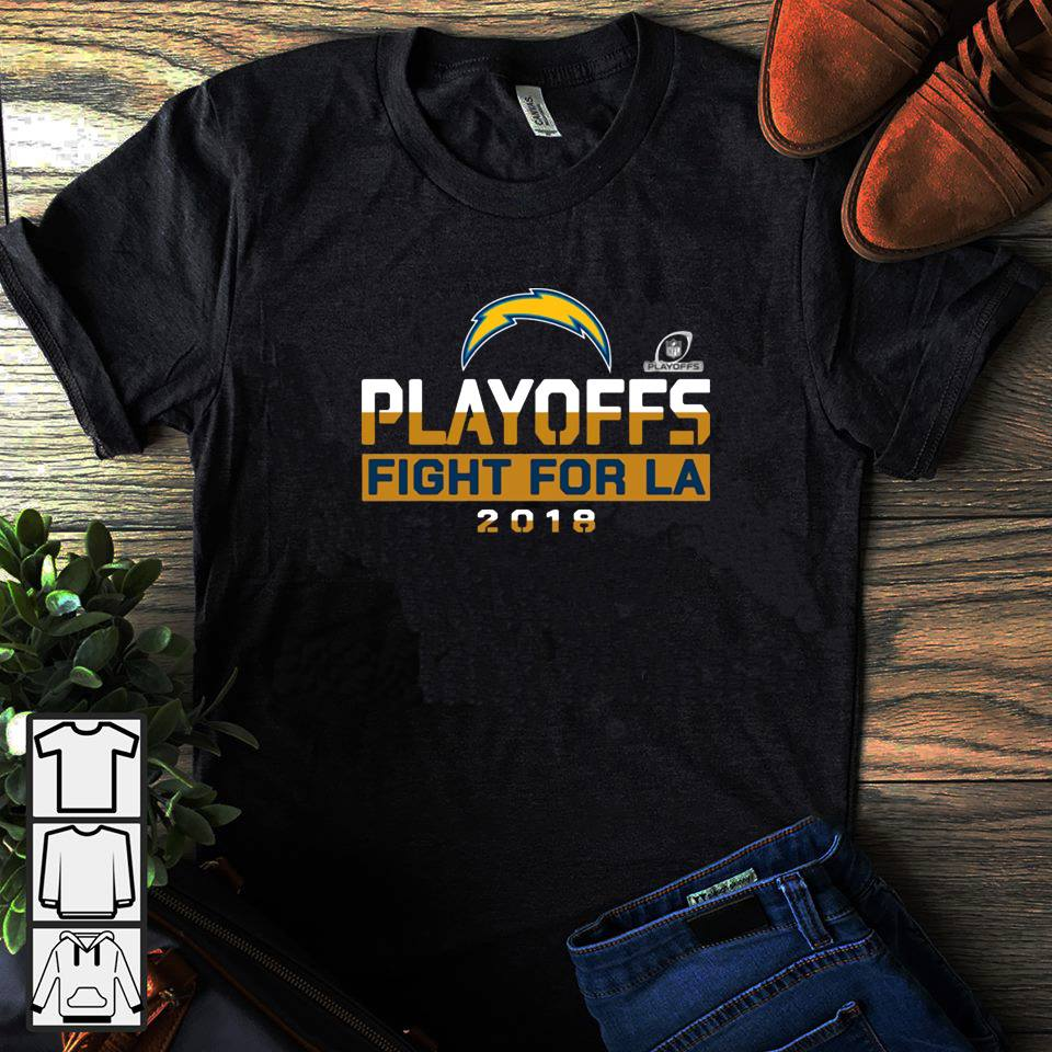 Playoffs fight for la Los Angeles 2018 shirt