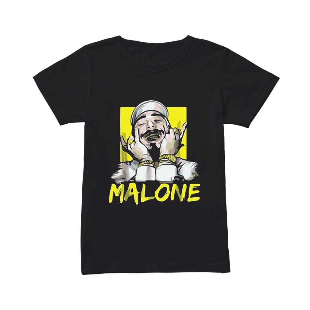 Rapper Post Malone shirt ladies tee