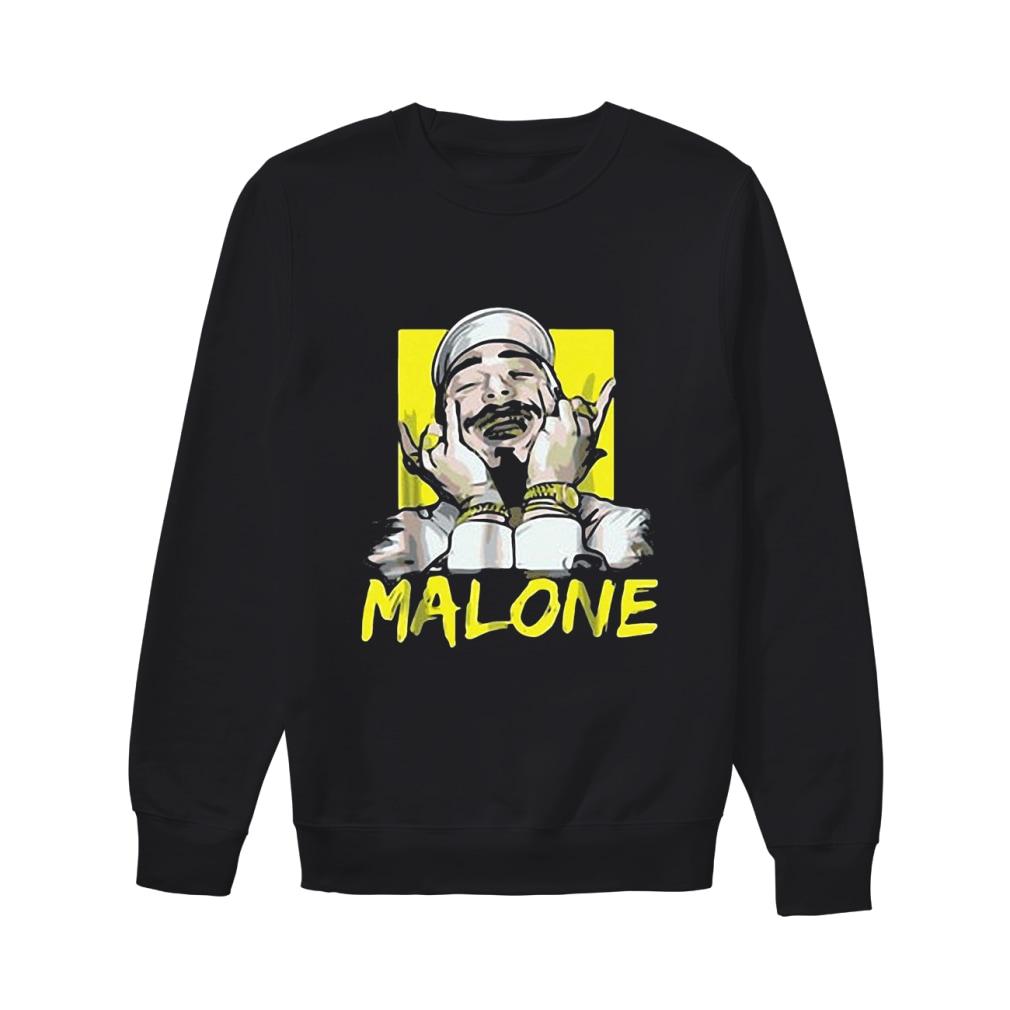 Rapper Post Malone shirt sweater