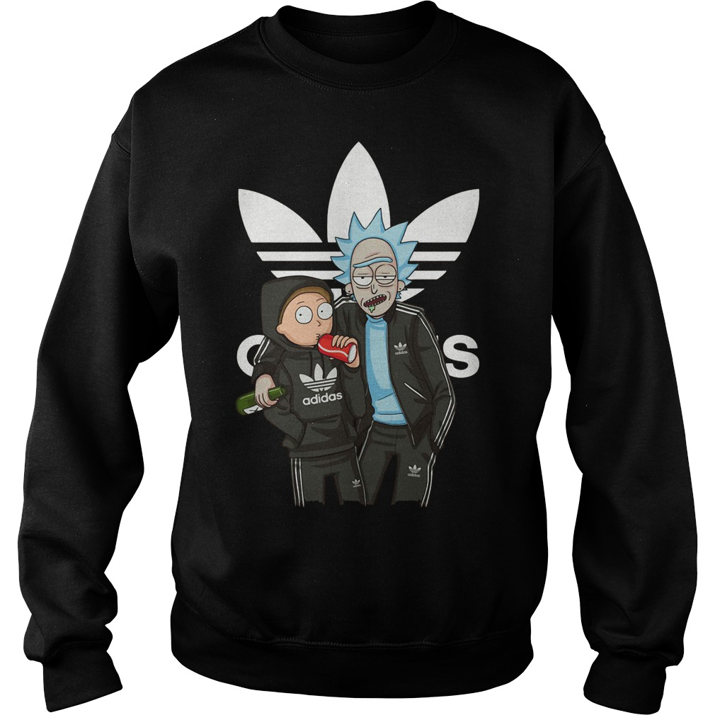 Rick and Morty stranger adidad sweater