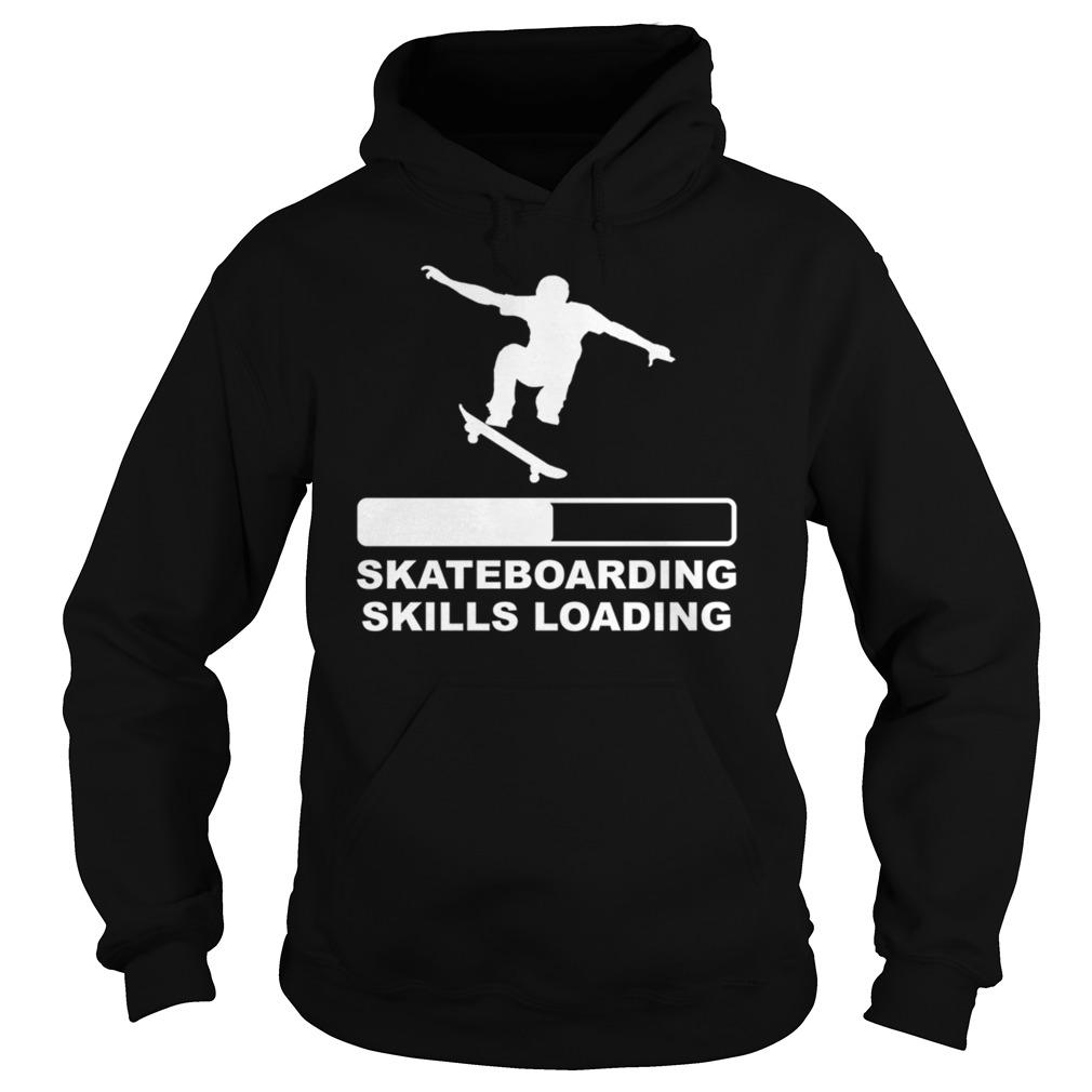 Skateboarding skills loading hoodie