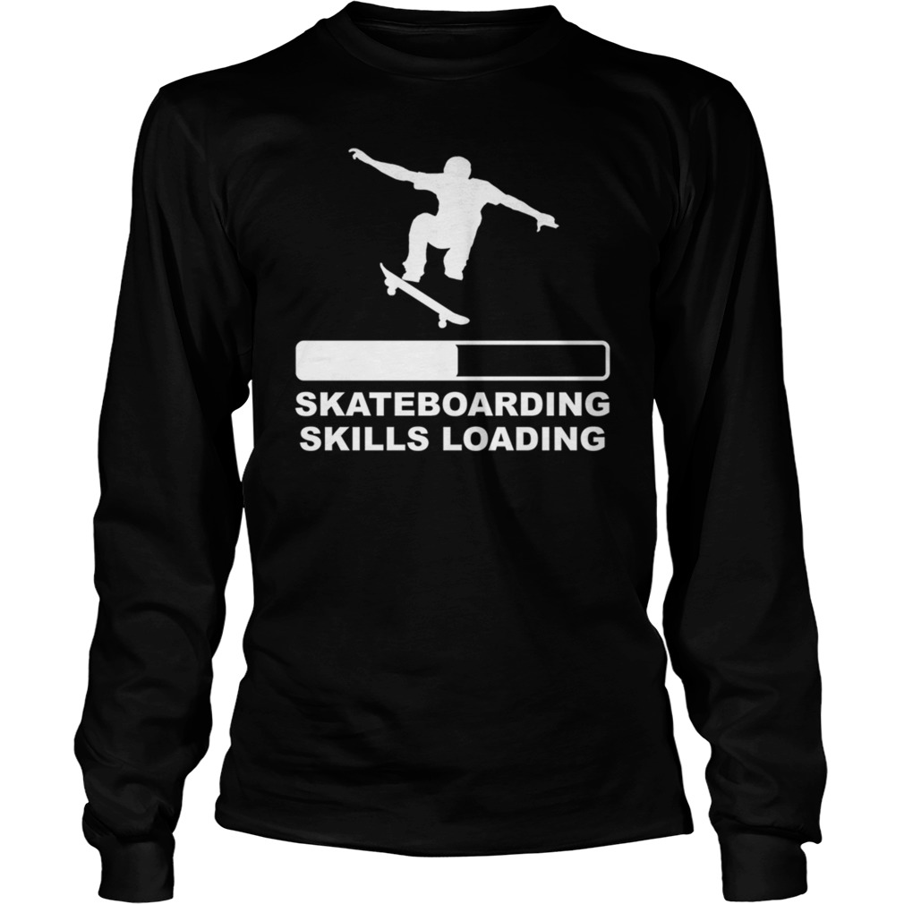 Skateboarding skills loading long sleeve