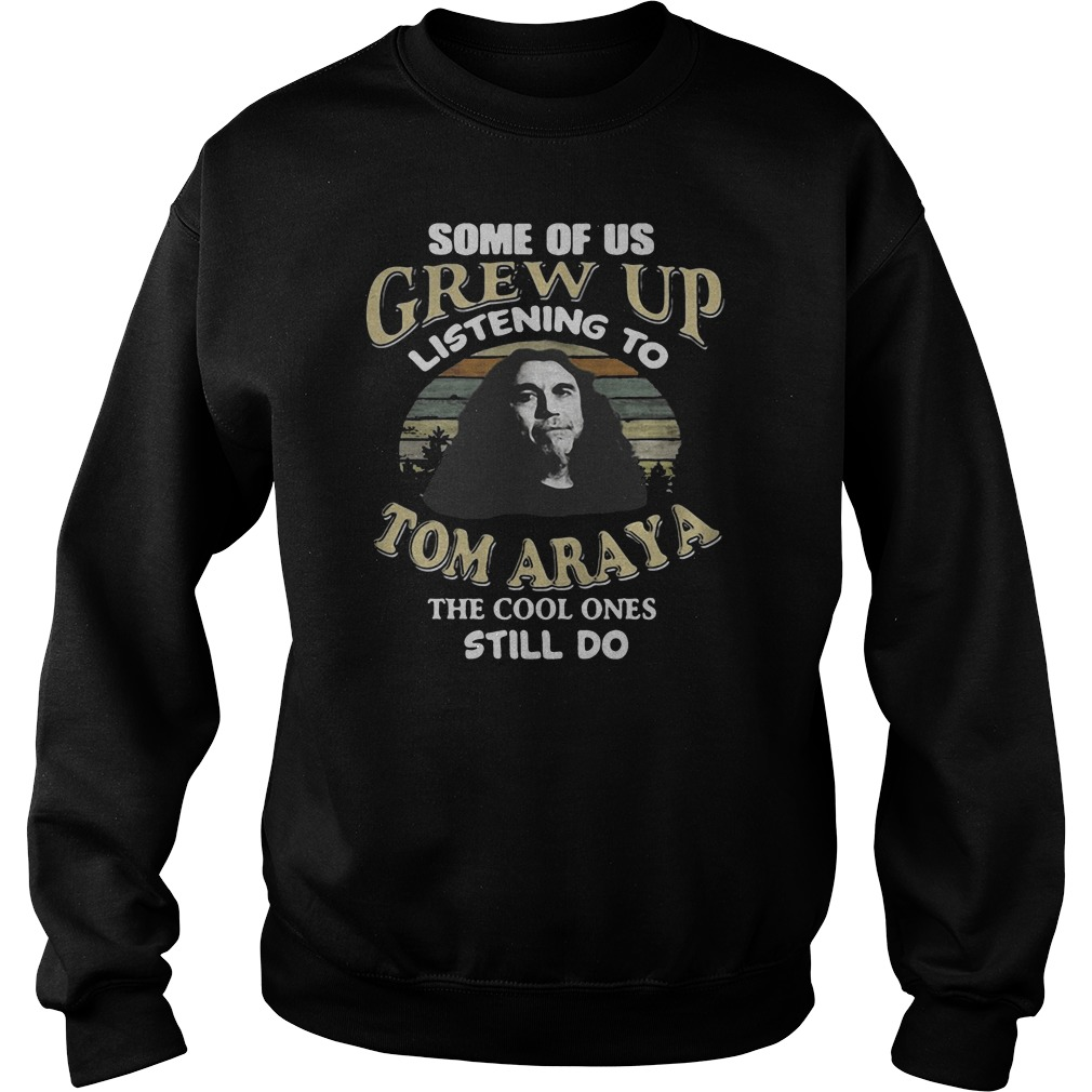 Some of us grew up listening to Tom Araya the cool ones still do shirt sweater