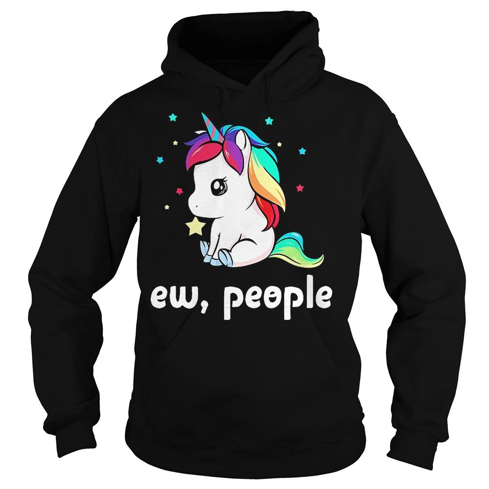 Unicorn ew people hoodie