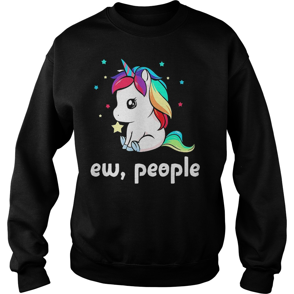 Unicorn ew people sweater