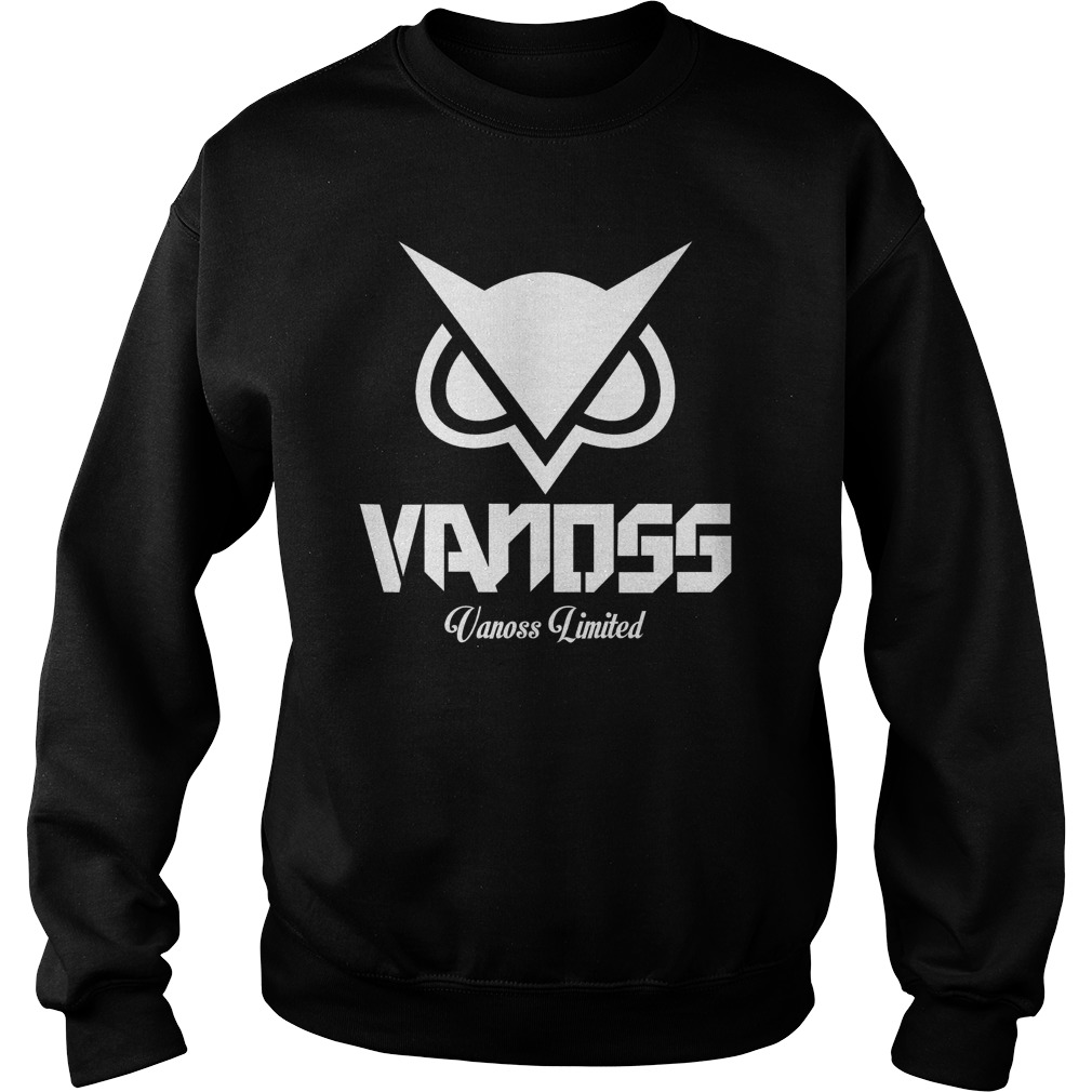 Vanoss limited white sweater