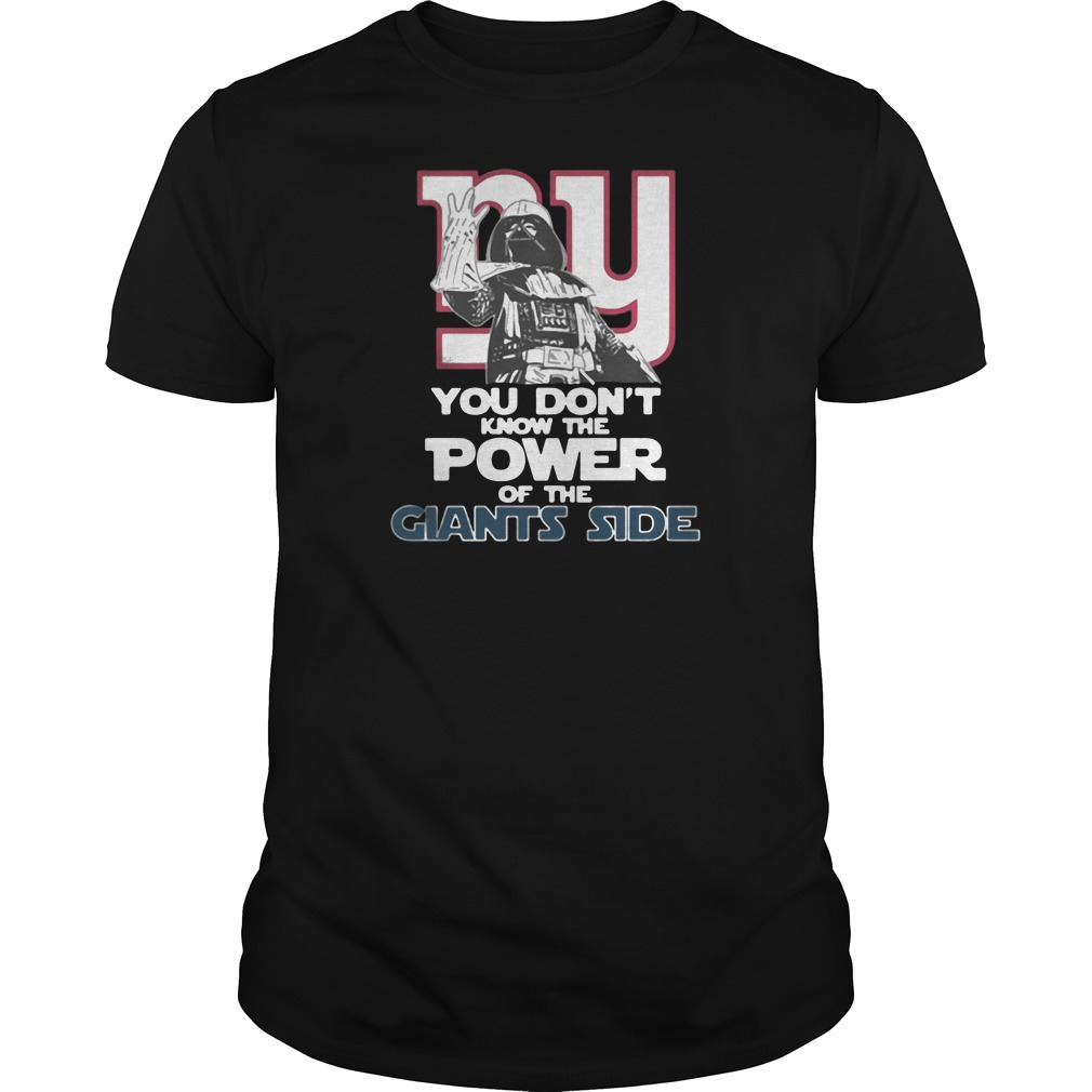 You don't know the power of the giants side shirt tank top