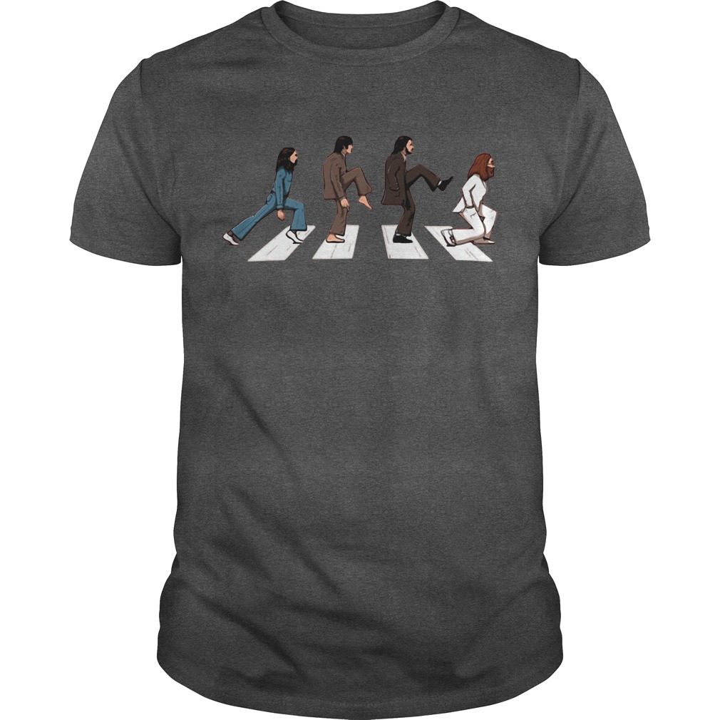 The Beatles: Abbey Road Ministry of silly walks shirt