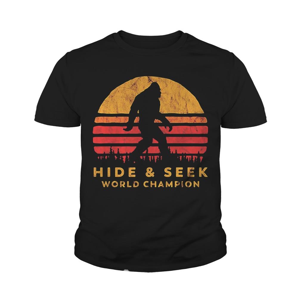 5ca1dc79 Bigfoot Hide and seek world champion shirt - isportstees.over-blog.com