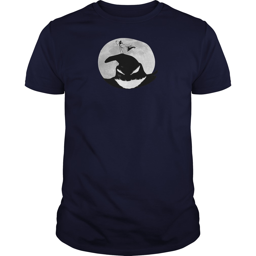 Disney nightmare before christmas oogie boogie moon shirt