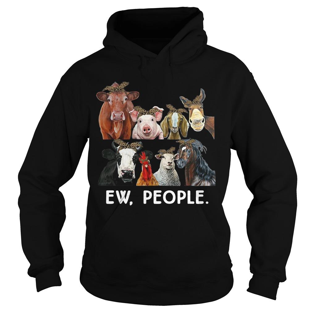 Farmers cattle ew people animal hoodie