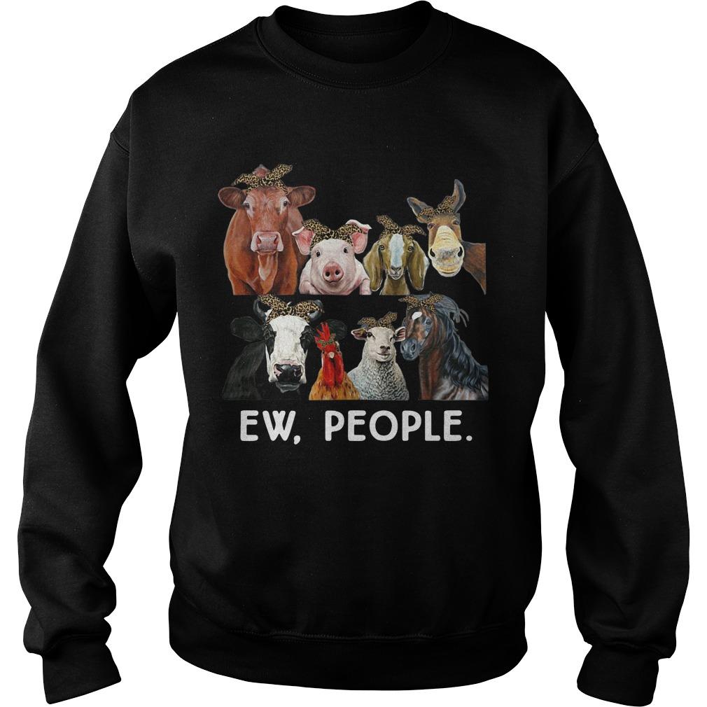 Farmers cattle ew people animal sweater