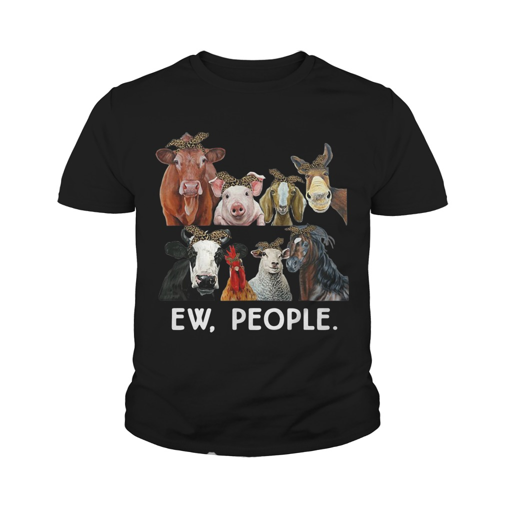 Farmers cattle ew people animal youth tee