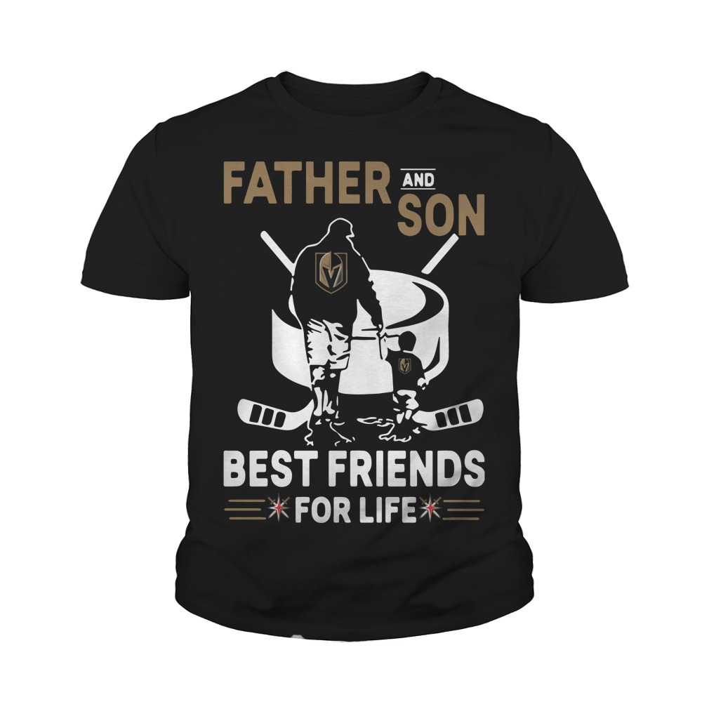Father and son best friends for life youth tee