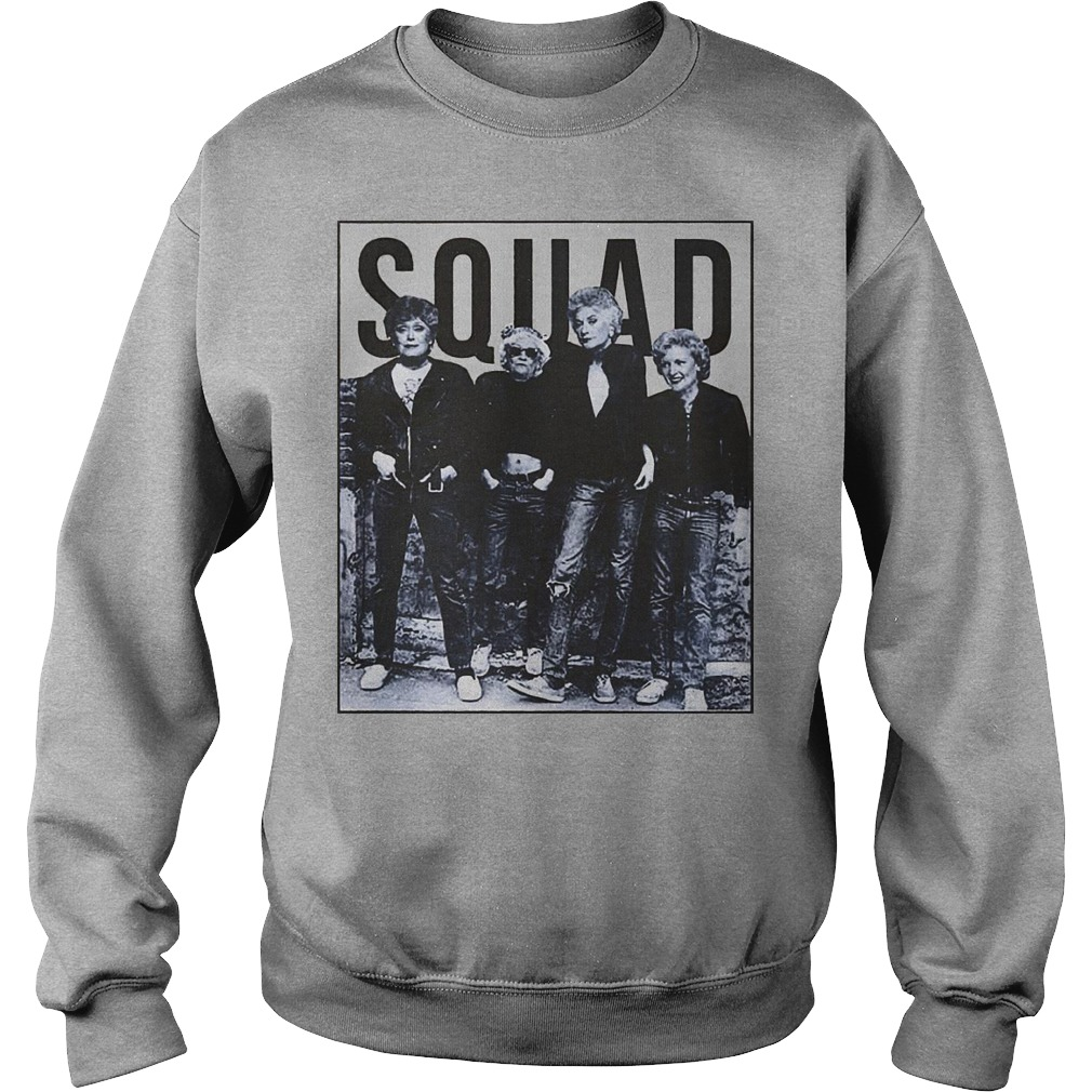 Official Golden Girls Squad Shirt, hoodie and sweater