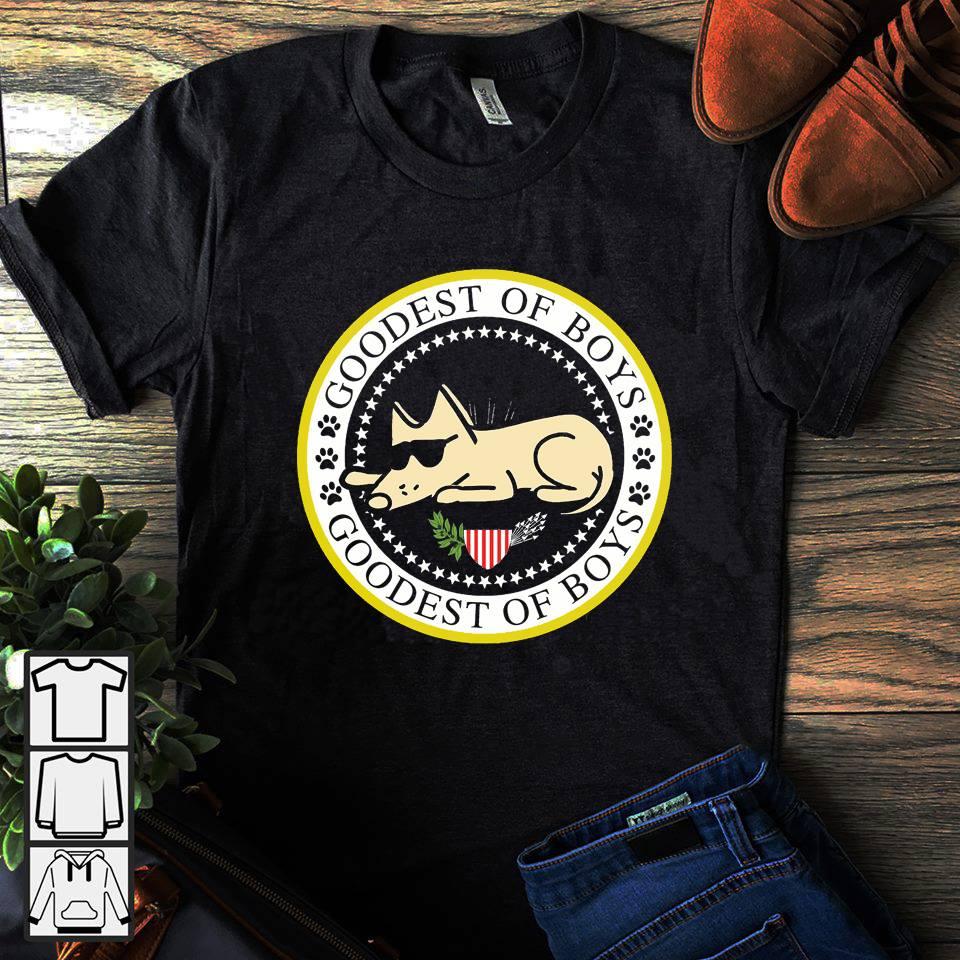 Goodest of boys dog shirt