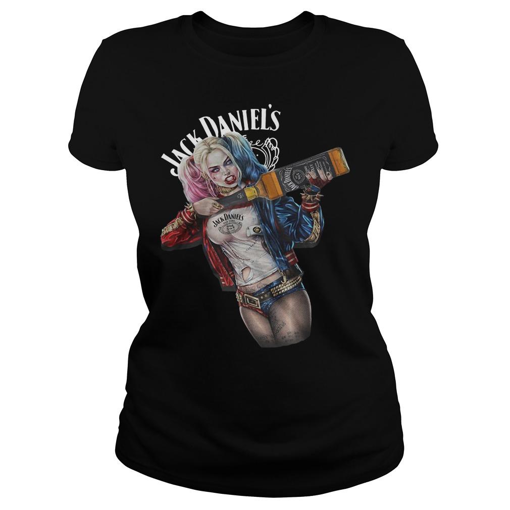 Harley Quinn Jack Daniel's ladies tee