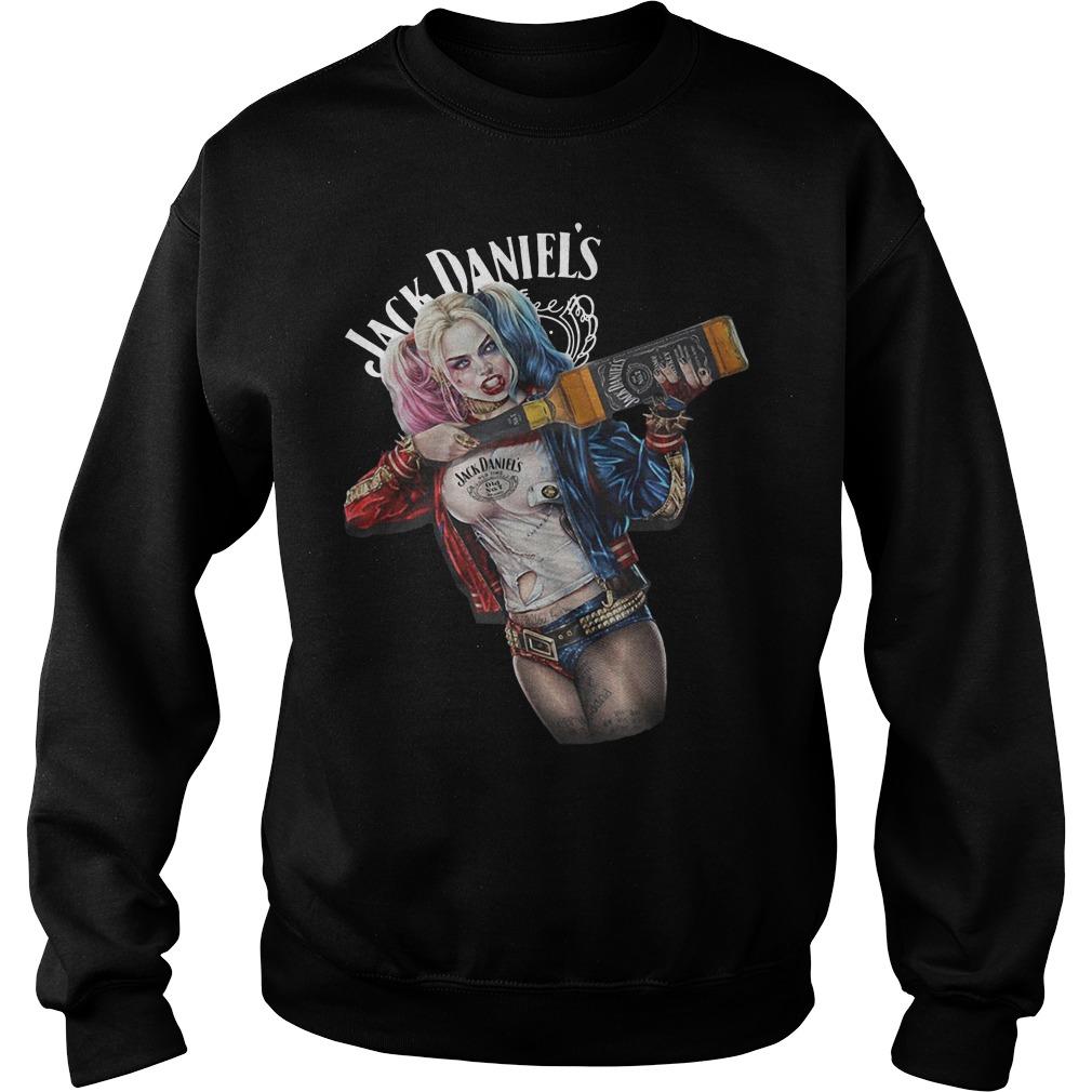 Harley Quinn Jack Daniel's sweater