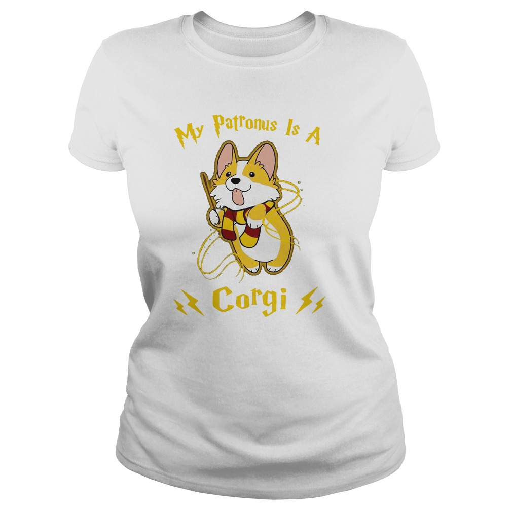 7f5096d5 Official Harry Potter my patronus is a corgi shirt, hoodie, tank top ...