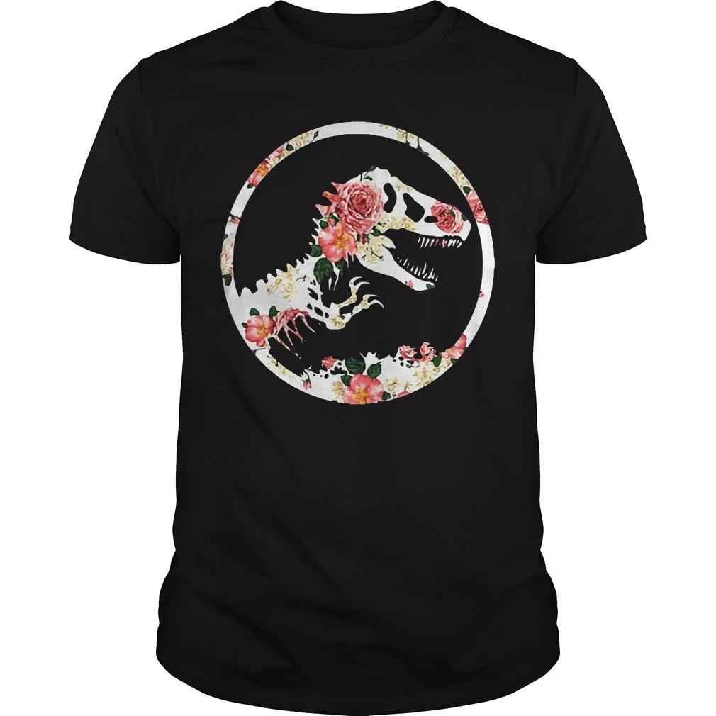 Jurassic World Dinosaur Floral Jurassic Park shirt